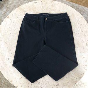 NWOT Lafayette 148 Crop Capri Jeans 12 Petite